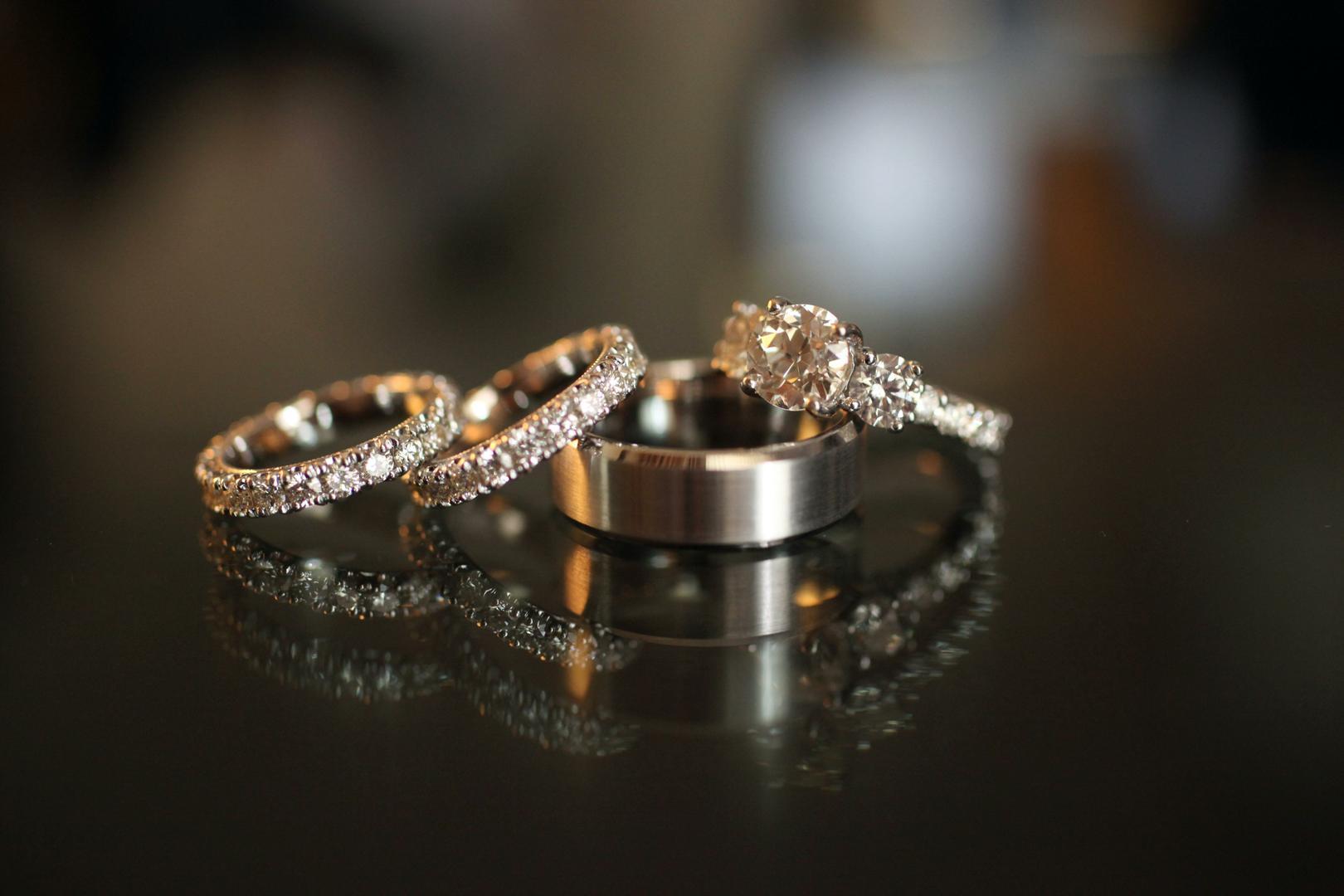 wedding bands sets