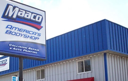 Auto Paint and Collision Repair   Maaco com Maaco Location Exterior