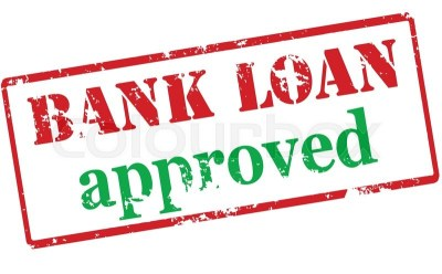 Rubber stamp with text bank loan ... | Stock Vector | Colourbox