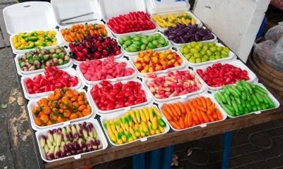 Sweet food on thailnd market | Stock Photo | Colourbox