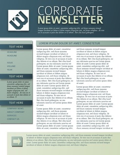 How to Make a Newsletter That Stands Out  13 Free Templates  newsletter      newsletter      newsletter template      newsletter