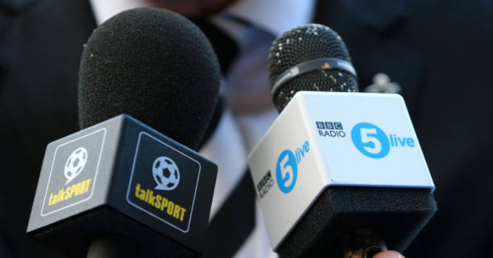 Radio 5 live v talkSPORT  Who wins the World Cup battle    Football365 Radio 5 live v talkSPORT  Who wins the World Cup battle