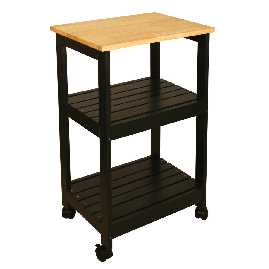 space saving cart kitchen utility table Catskill Black Kitchen Trolley 21