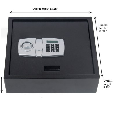 Digital LCD Lock Electronic Keypad Top-Opening Safe ...