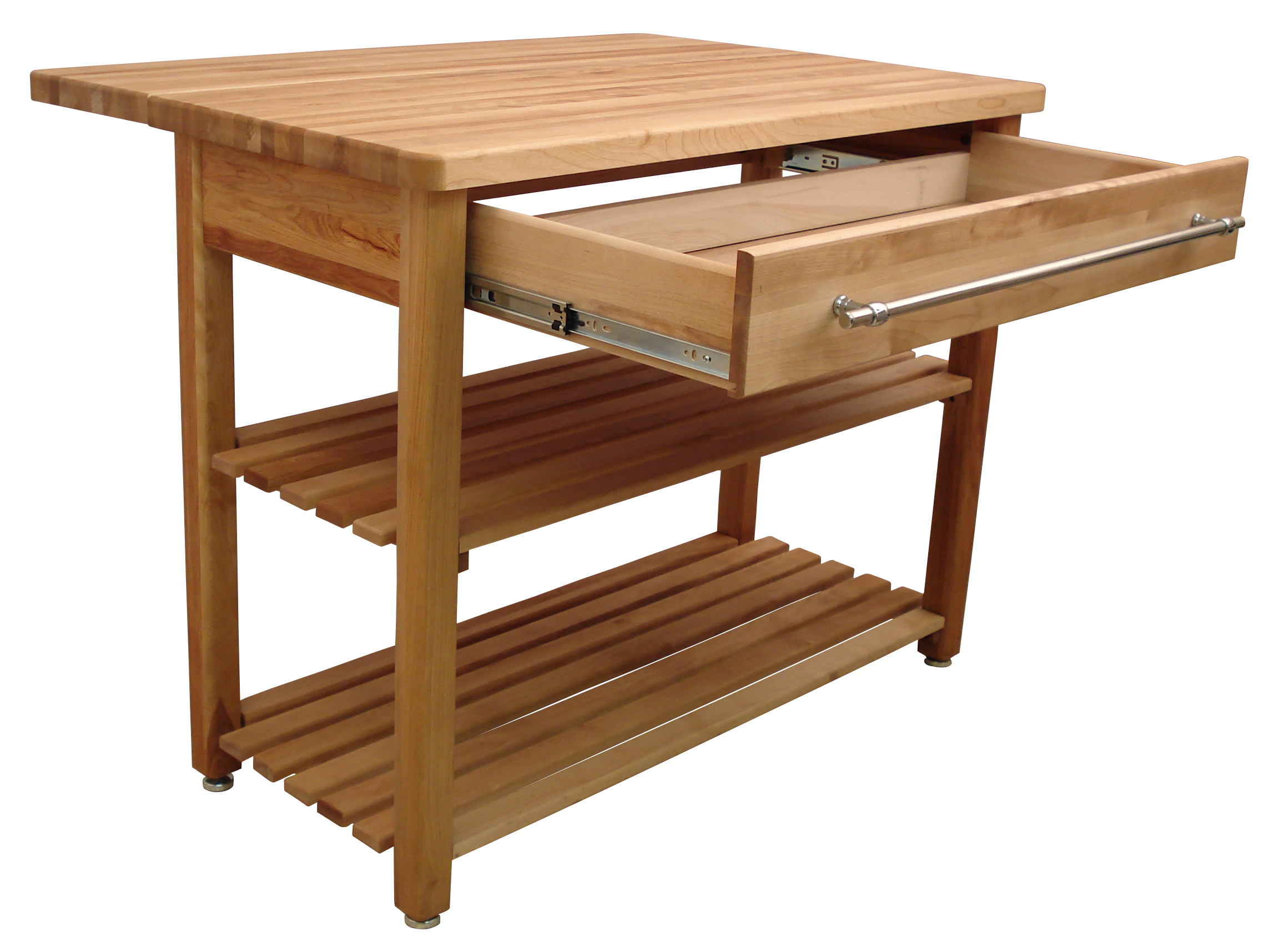 catskill craftsmen contemporary harvest table with drop leaf kitchen island 3 0