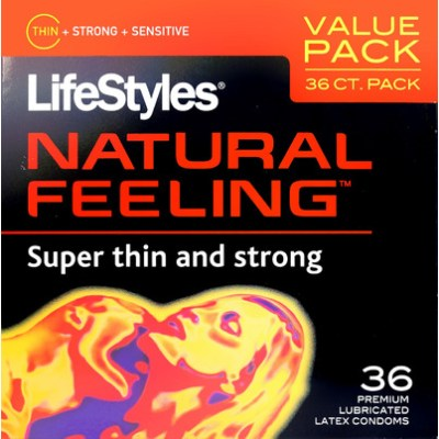 Buy Lifestyles Natural Feeling Latex Condoms from Canada ...