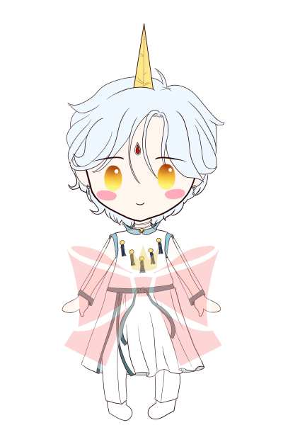 Sailor Mini Moon X Helios Sticker · Princess Luna's Bow ...