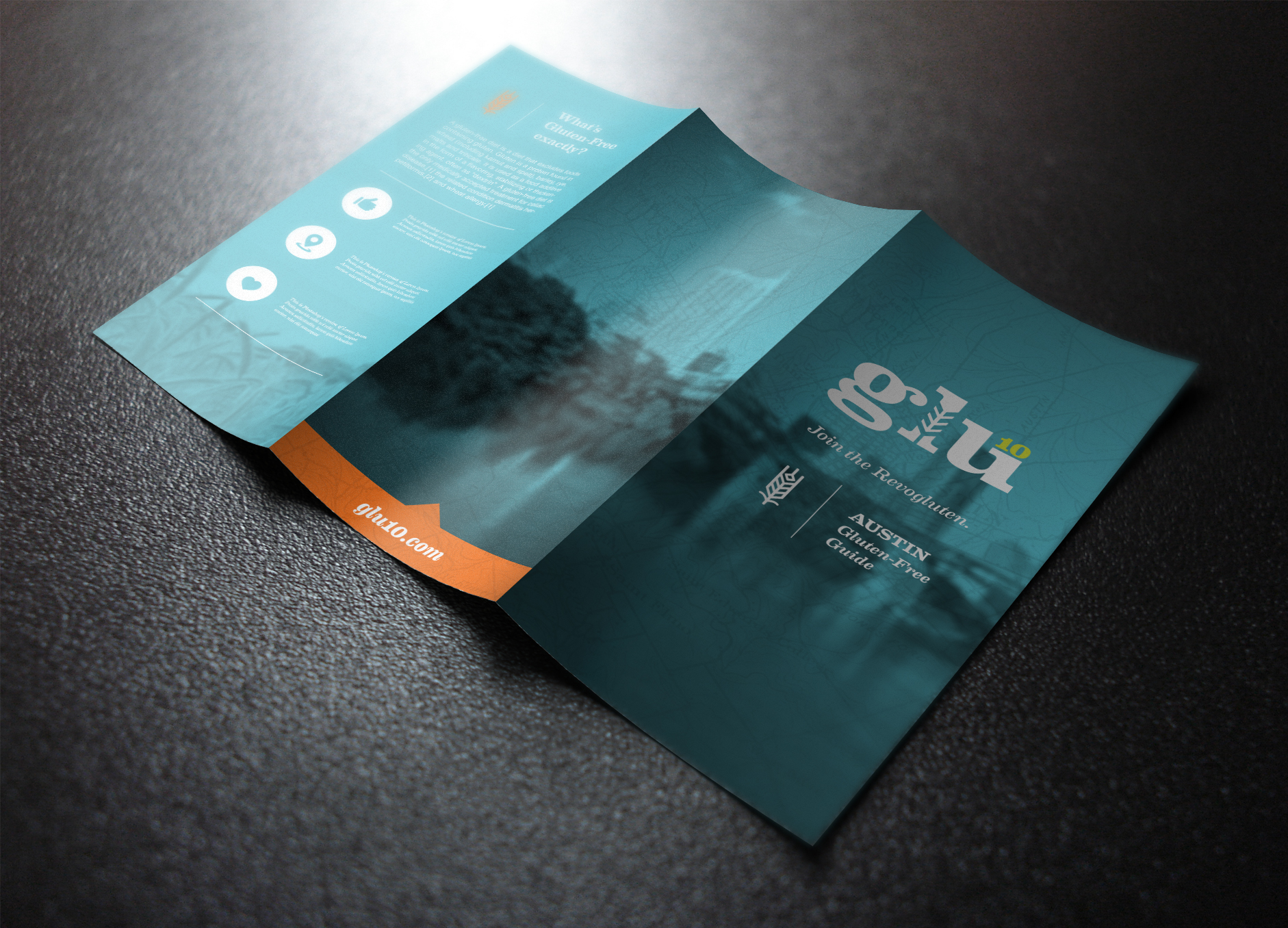 How to Design a Stunning Brochure  30 Expert Tips and Templates     Make the brochure worth keeping  Glu10 Trifold by Handsome