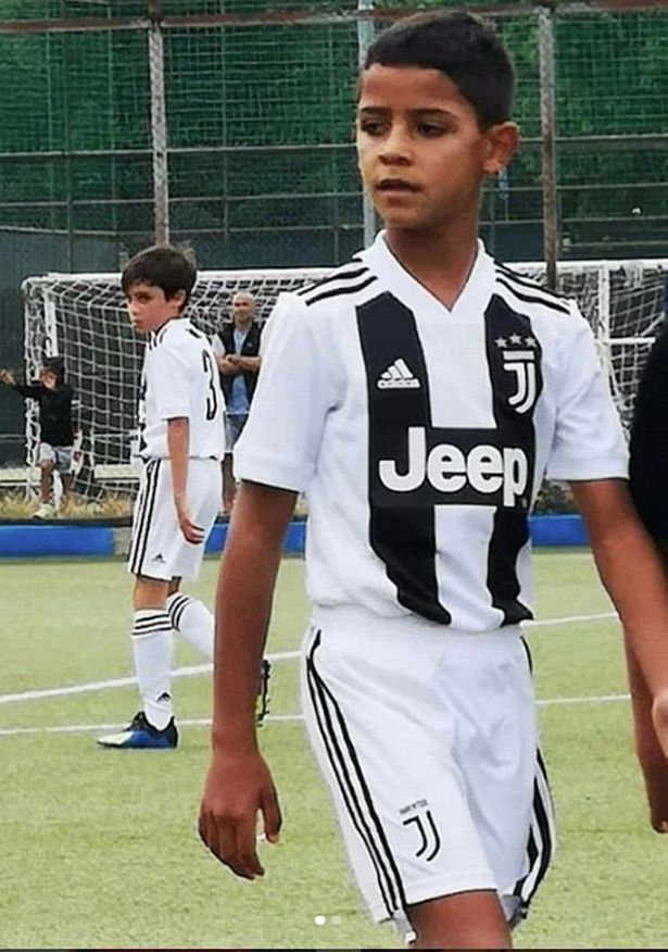 Ronaldo scores four goals for Juventus   Daily Post Nigeria Cristiano Ronaldo s son during the weekend scored four goals in his debut  for Juventus Under 9s  wearing his father s iconic no  7 shirt