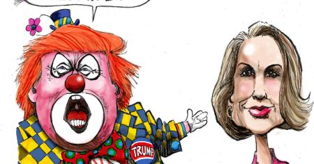 Bensoncolor Trump Clown And