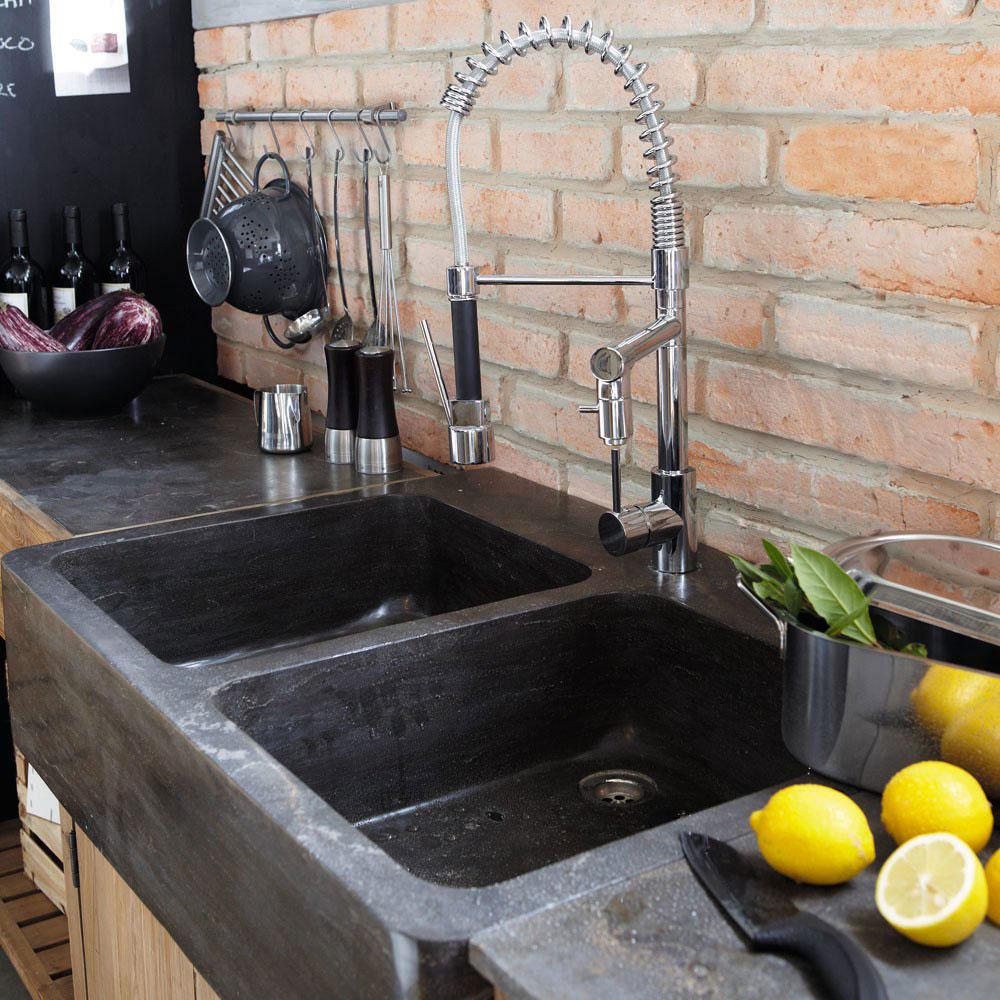 old sinks stone kitchen sink