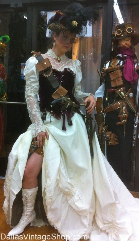 wedding themes steampunk wedding dresses Vintage Wedding Themes Themed Brides Dresses Steampunk Wedding Attire