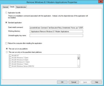 Removing Windows 8.1 Modern Applications during your MDT ...