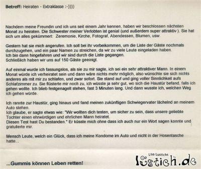 Gummis können Leben Retten Bild - lustich.de