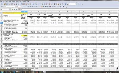 Cash Flow Projection Spreadsheet with regard to Free Cash Flow Statement Templates Smartsheet ...