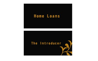 Modern, Upmarket, Loan Business Card Design for a Company by Frank | Design #2999405