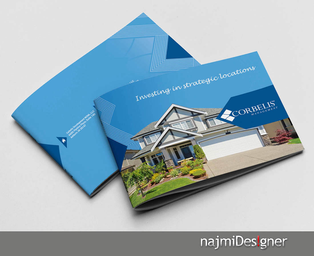 Professional  Serious  Residential Brochure Design for a Company by     Brochure Design by Najmi for this project   Design  3117434