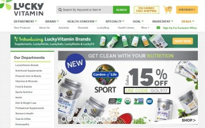 $20 Off LuckyVitamin Coupon Code | 2017 Promo Code | Dealspotr