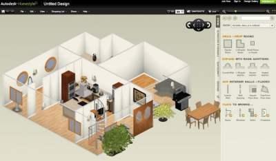 Inneneinrichtung in 3D planen mit kostenloser Software
