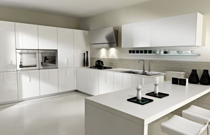 33 modern white contemporary and minimal kitchen designs kitchen interior design 33 Modern white contemporary and minimalist kitchen designs