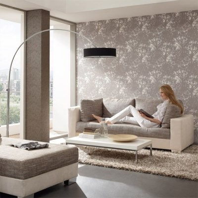 15 living room wallpaper ideas – types and styles of wallpapers