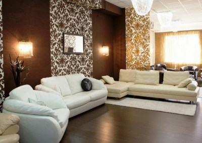 Living room design ideas in brown and beige - 50 fabulous interiors