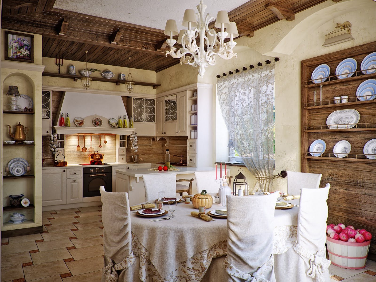 attractive country kitchen designs ideas that inspire you country kitchen design ideas awesome country kitchen design by Svetlana Nezus Interior Designs