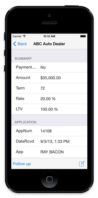 Auto Loan Origination Mobile App Technology - defi SOLUTIONS