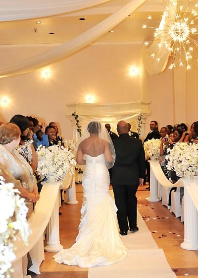 Indoor Wedding Ceremony in Southwest Houston - Demers ...