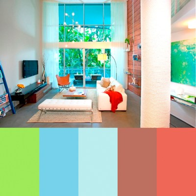 Zippy Color Palettes from DKOR Interiors - Design Milk
