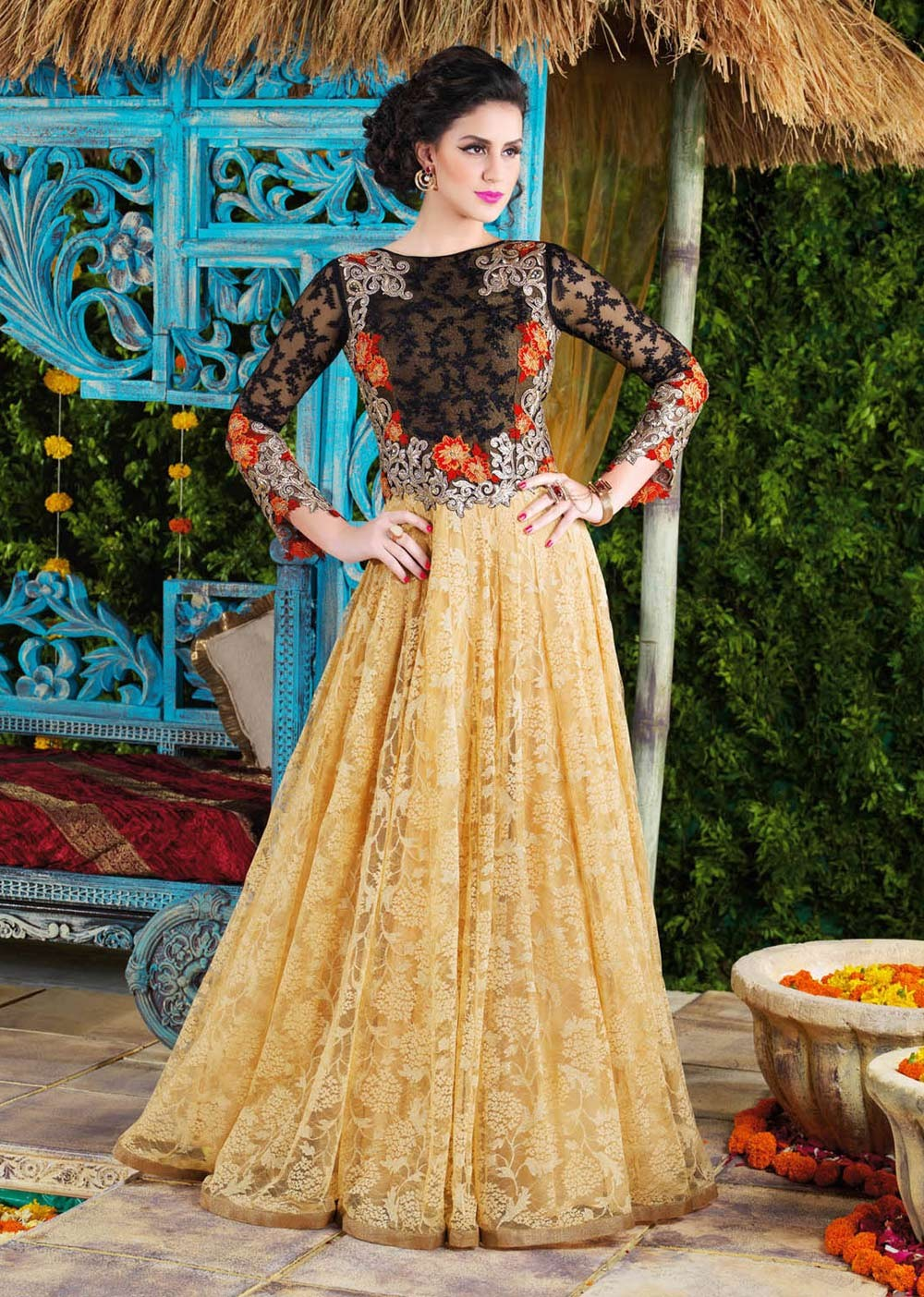 indian wedding dresses and wedding gowns for online get now contemporary wedding dresses Traditional Indian wedding dresses include an elite collection of bridal dresses embroided sarees zari sarees and gem embellished wear that come in