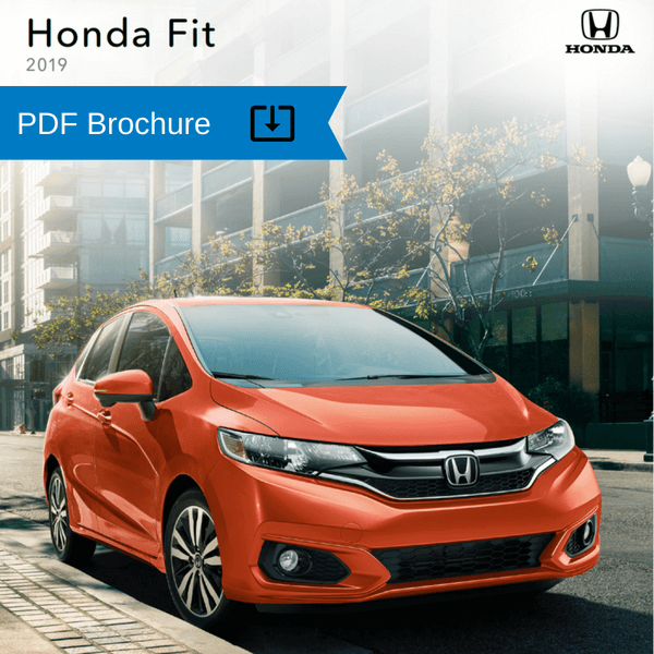2019  2018 Honda Brochures   Patty Peck Honda Research 2019 Honda Fit Brochure