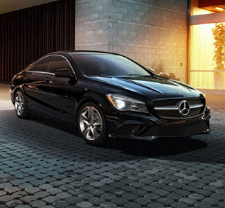 Mercedes Benz of Tysons Corner in Vienna  VA   Luxury Auto Dealer New Mercedes Benz in Driveway