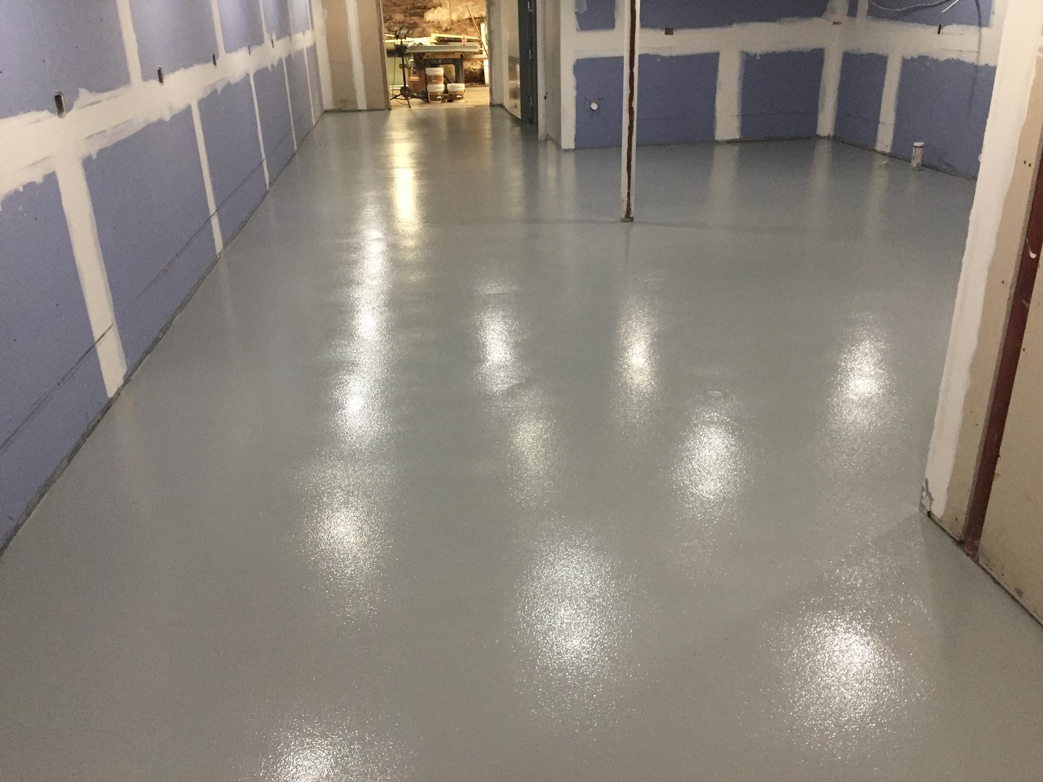 commercial kitchen epoxy floor middletown ct epoxy flooring kitchen polycrete broadcast urethane cement Polycrete Kitchen Floor After