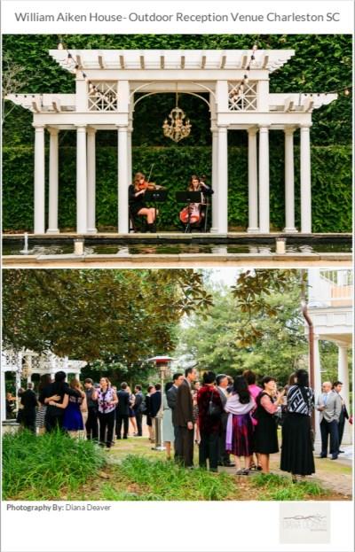 PUBLISHED!- Charleston Garden Wedding - Diana Deaver Weddings
