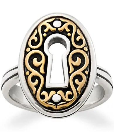 james avery wedding bands James Avery Journeys Keyhole Ring