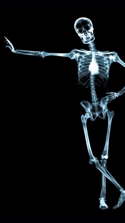 X Ray Skeleton iPhone 5 Wallpaper | スマホ壁紙/iPhone待受画像ギャラリー