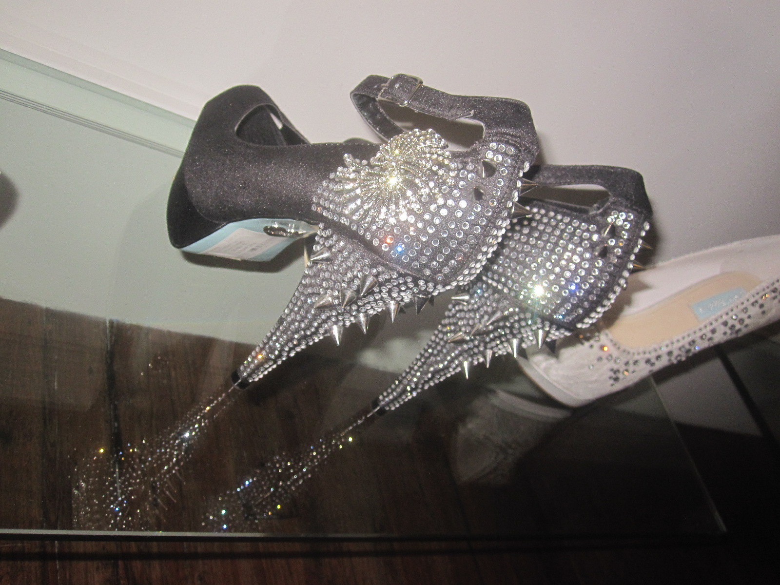 zahia dehar betsey johnson wedding shoes Betsey Johnson a Memoirs favorite Betsey always brings funk and flair to her designs Her showroom collection involves her new wedding line simply called
