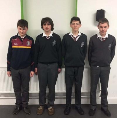 Maths Quiz winners 2017 - cbskilkenny.ie