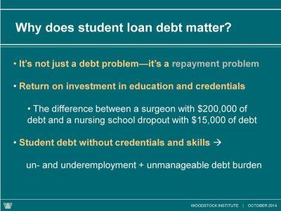 Student debt: what s the problem? - PDF