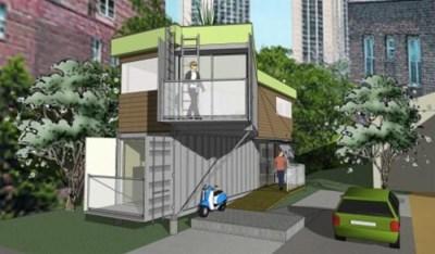 DIY Shipping Container House Plans   Designs & Ideas on Dornob
