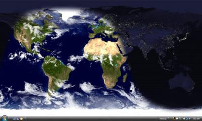 Living Earth Desktop Wallpaper - Wallpaper Software for PC