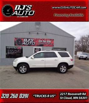 2008 GMC Acadia SLT 1 In Saint Joseph MN   DJ AUTO SALES 2008 GMC Acadia for sale at DJ AUTO SALES in Saint Joseph MN