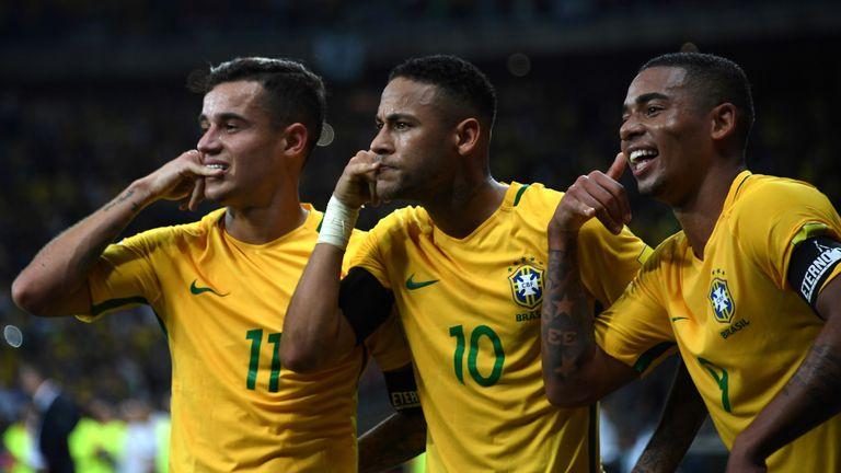Brazil thrash Argentina as Neymar puts Lionel Messi in shadows in World Cup Qualifier   Football ...