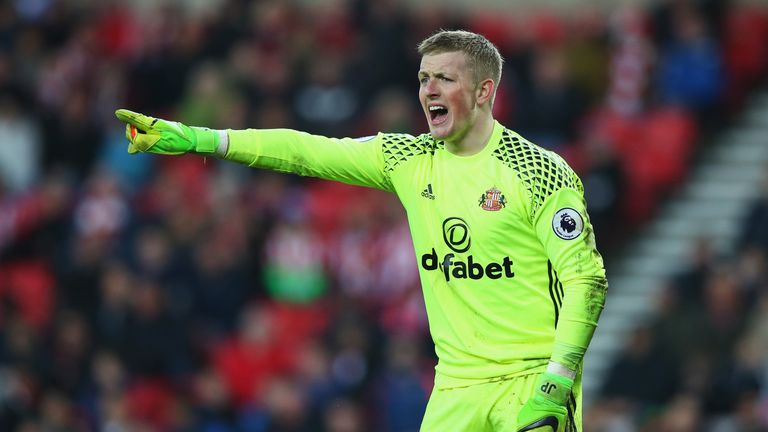 Jordan Pickford is special  says ex Liverpool goalkeeper Chris     Pickford is tipped for the top by former England goalkeeper Chris Kirkland