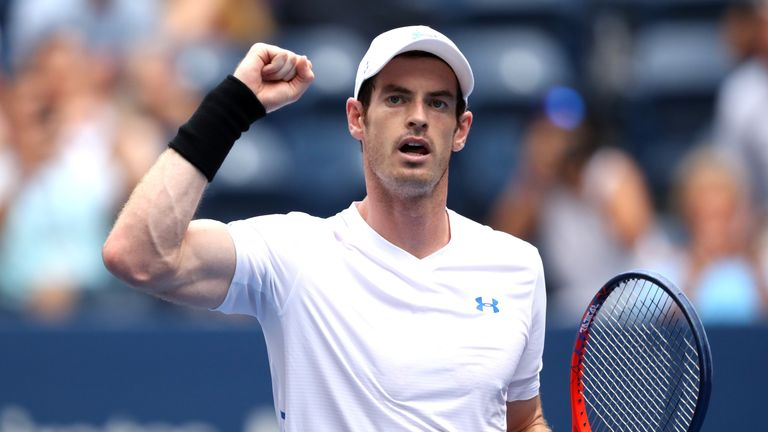 Andy Murray wins opening match at US Open against James Duckworth | Tennis News | Sky Sports