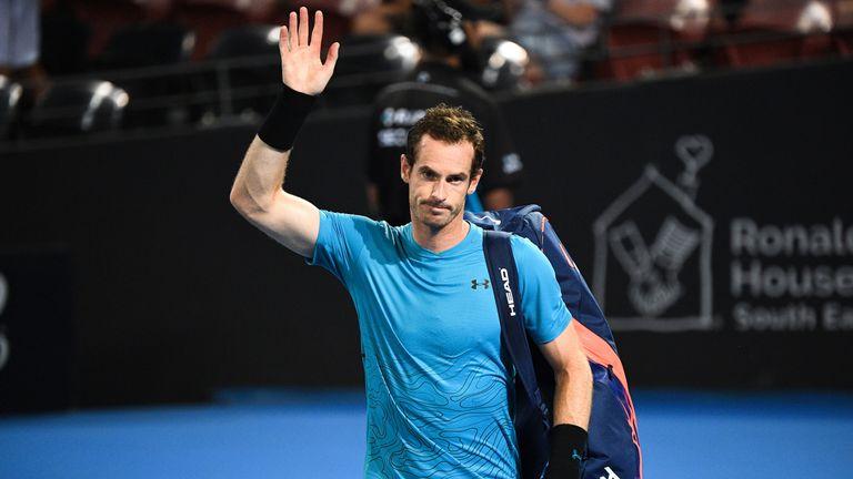 Andy Murray beaten at Brisbane International by Daniil Medvedev   Tennis News   Sky Sports