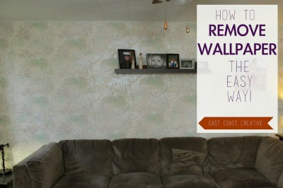 How to Remove Wallpaper the Easy Way!