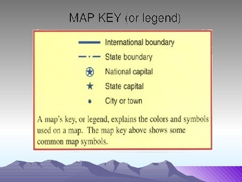 Social Studies   Map Skills Lesson and PowerPoint by Bradley Weintraub Social Studies   Map Skills Lesson and PowerPoint