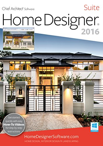 Home Designer Suite 2016 [PC] [Download] | Recomended Products